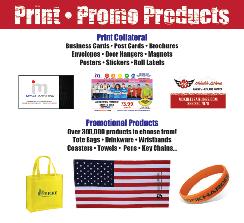 Promotional Marketing Products